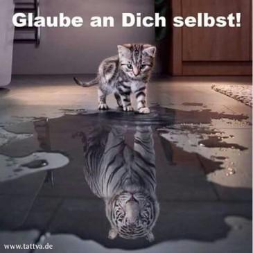 Glaube an dich selbst!