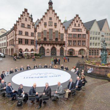 """Stiftung """"Lebendige Stadt"""", Runder Tisch 2016 in Frankfurt am Römer"""