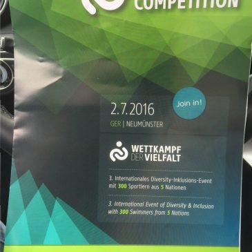 Wettkampf der Vielfalt am 2. Juli 2016 in Freizeitbad Neumünster