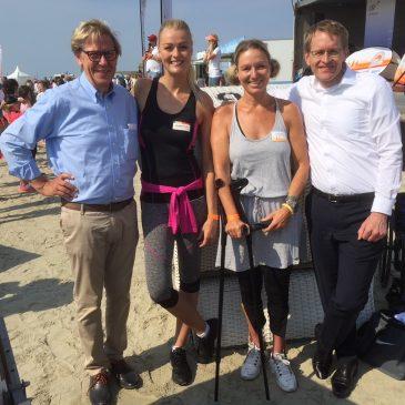 DOSB Sportabzeichentour in Sankt Peter Ording